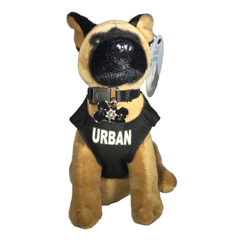 Urban K9 Hero Collectable Stuffed Animal Friends Of Clackamas